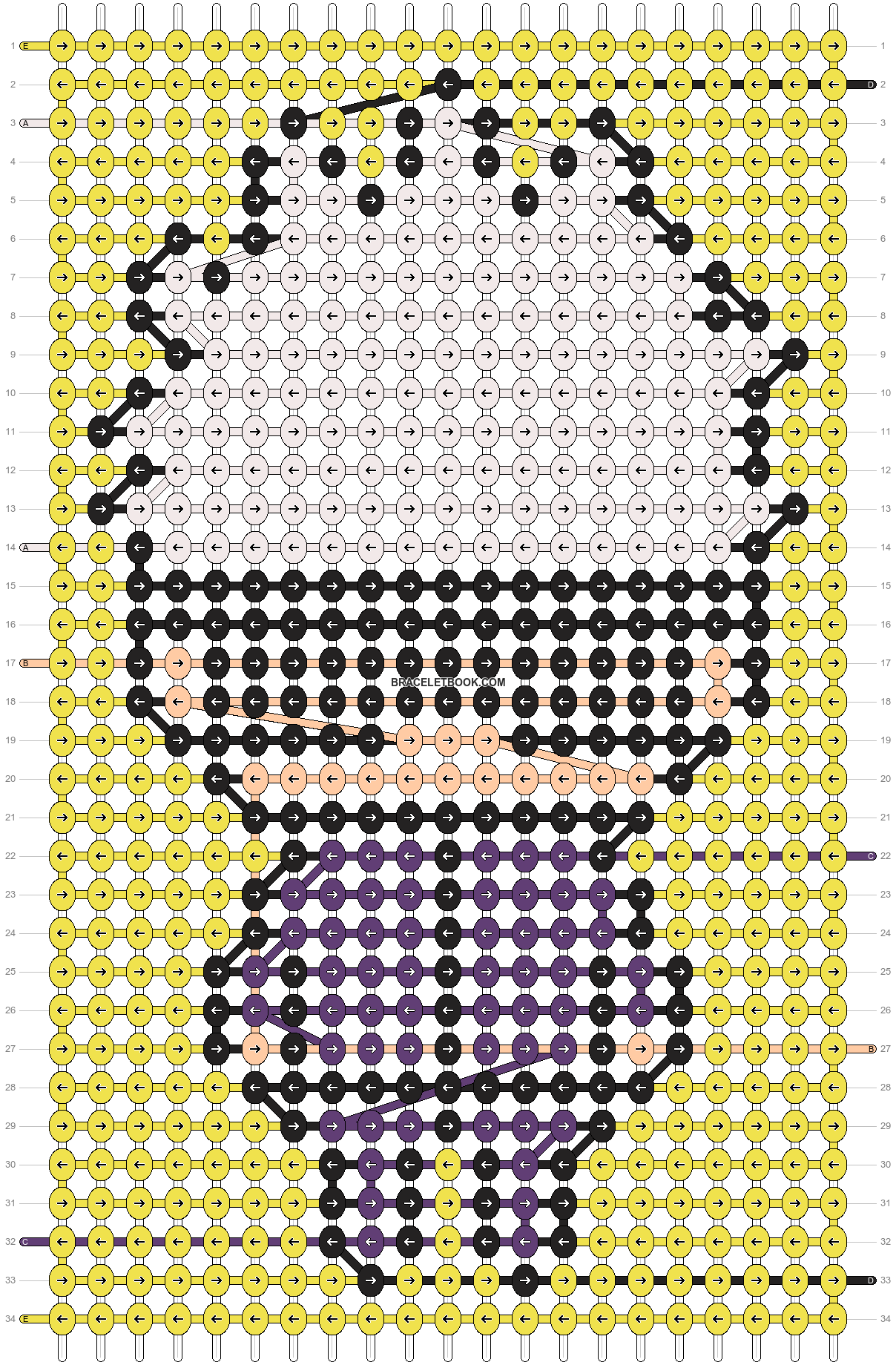 Alpha pattern #100695 pattern