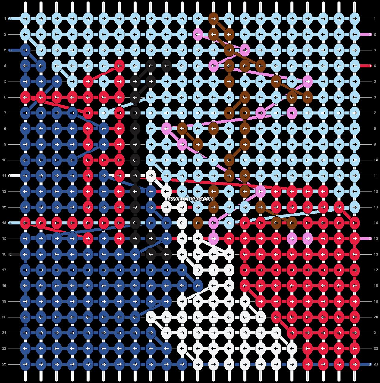 Alpha pattern #100698 pattern