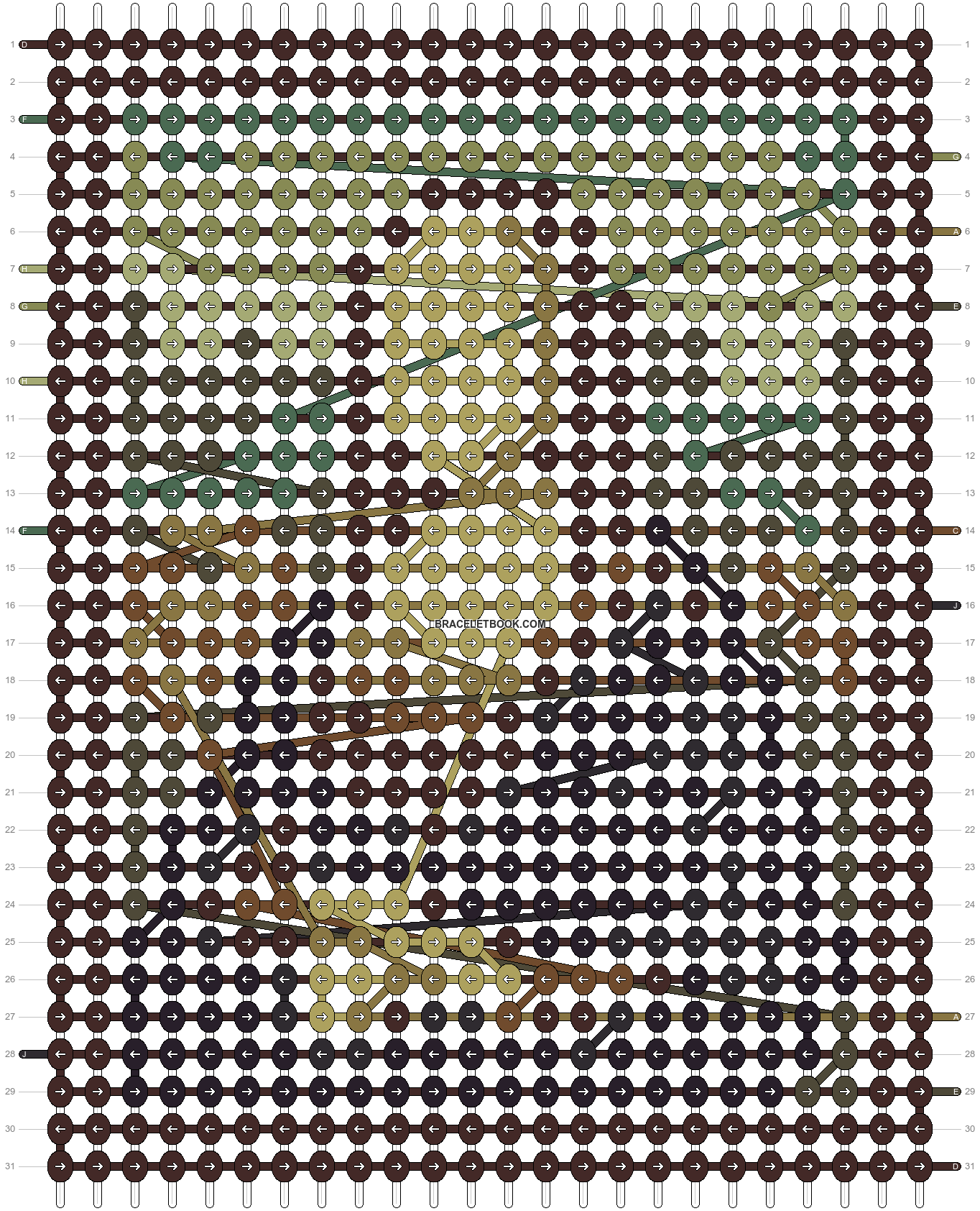 Alpha pattern #100726 pattern