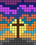 Alpha pattern #100744