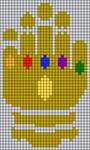 Alpha pattern #100760