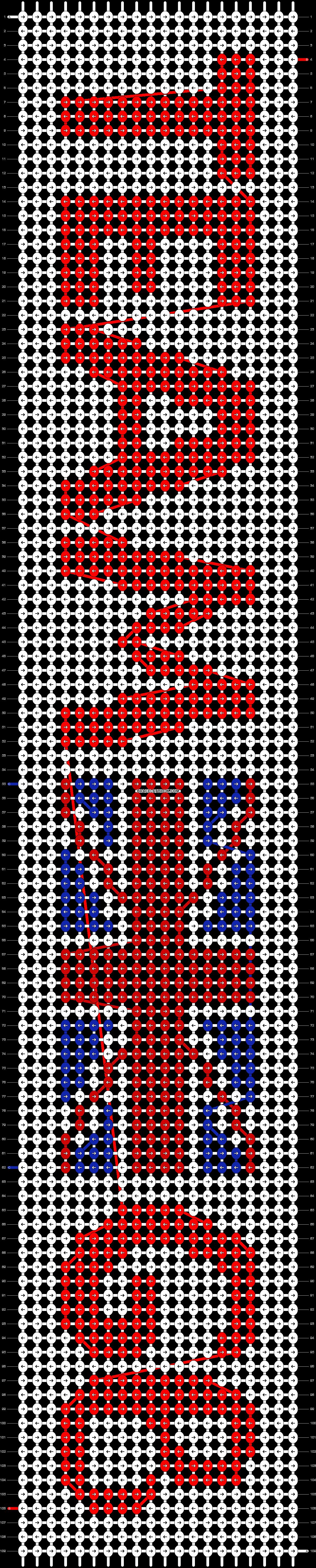 Alpha pattern #100871 pattern