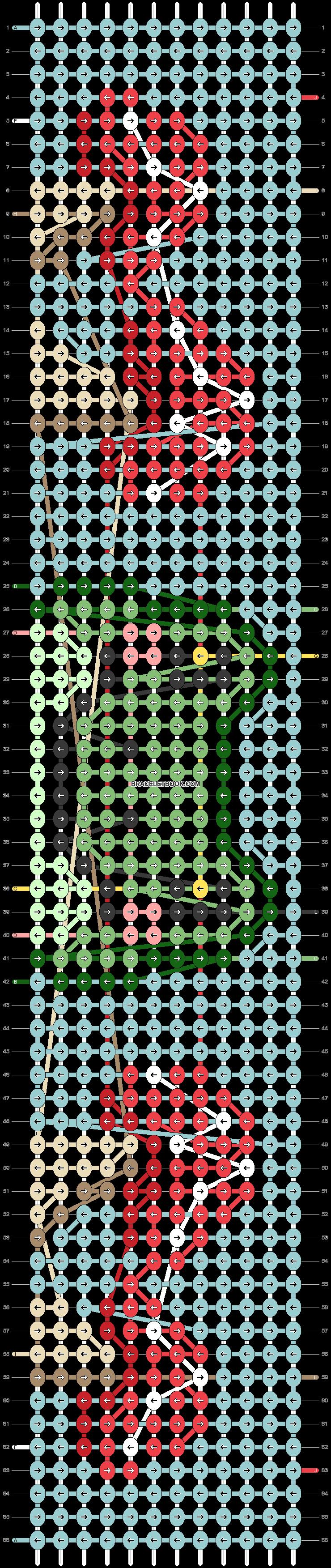 Alpha pattern #100889 pattern