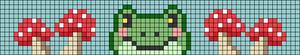 Alpha pattern #100889