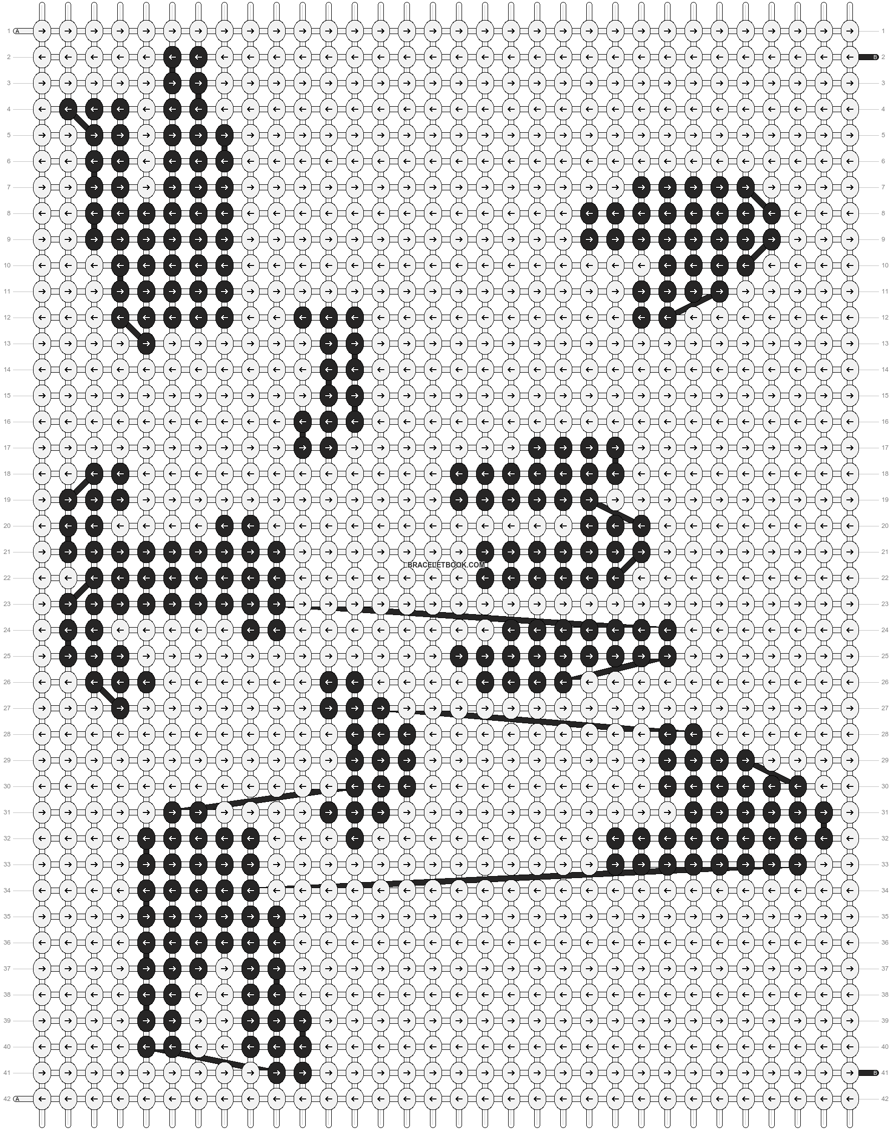Alpha pattern #100919 pattern