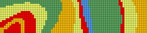 Alpha pattern #100944