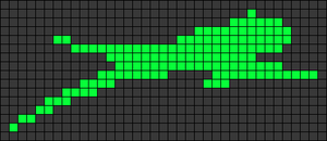 Alpha pattern #100955