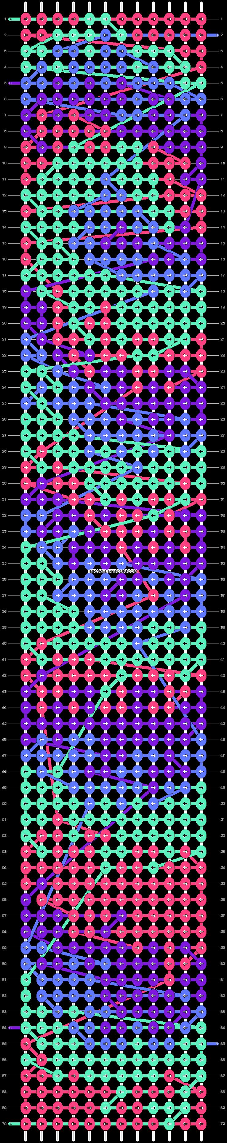 Alpha pattern #100956 pattern
