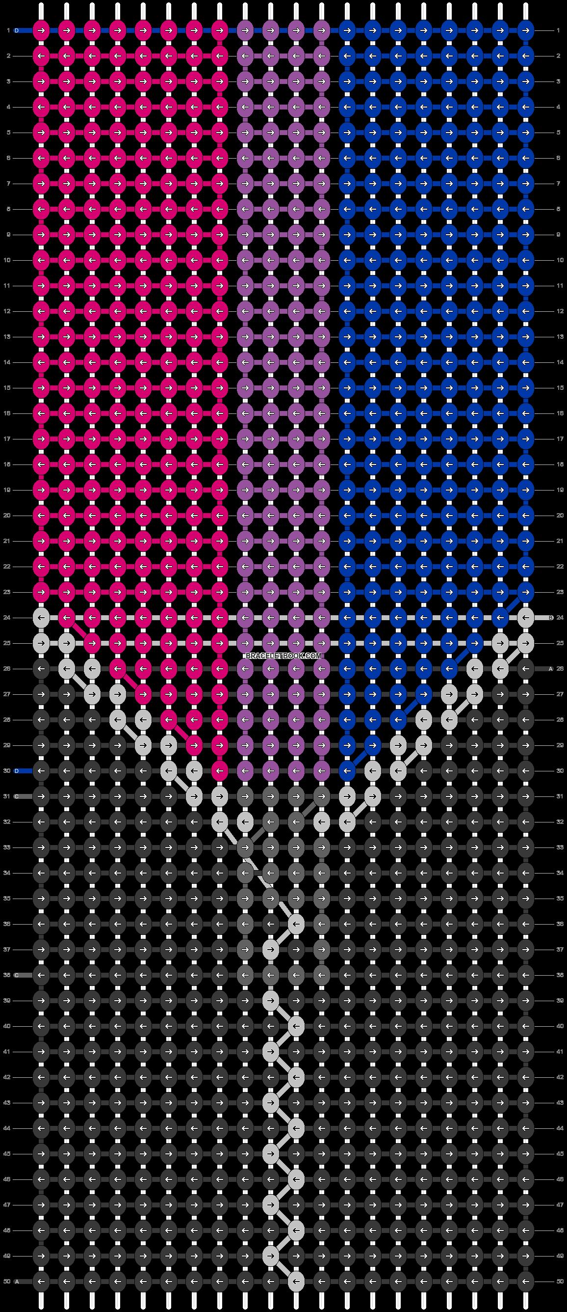 Alpha pattern #101105 pattern