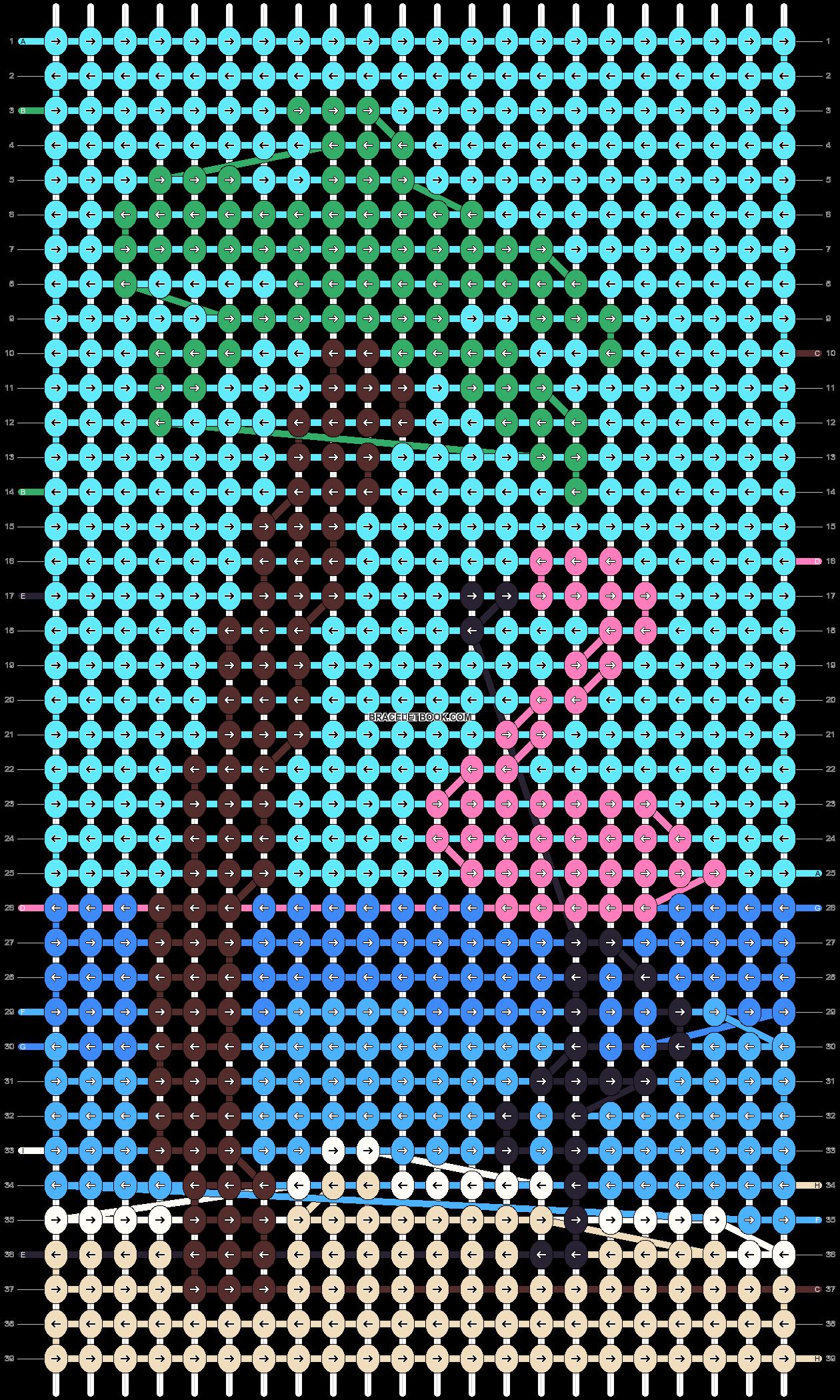 Alpha pattern #101274 pattern