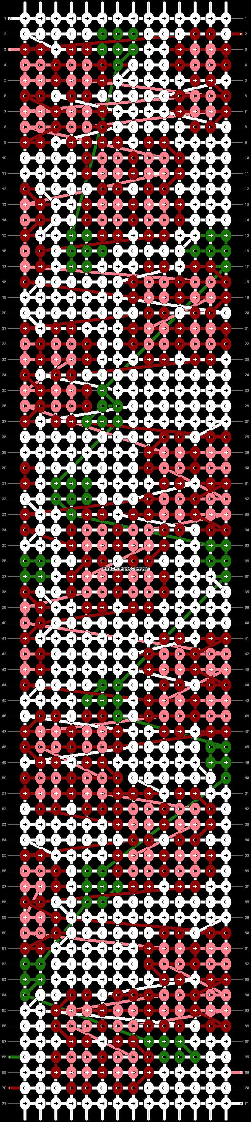 Alpha pattern #101302 pattern