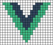 Alpha pattern #101401