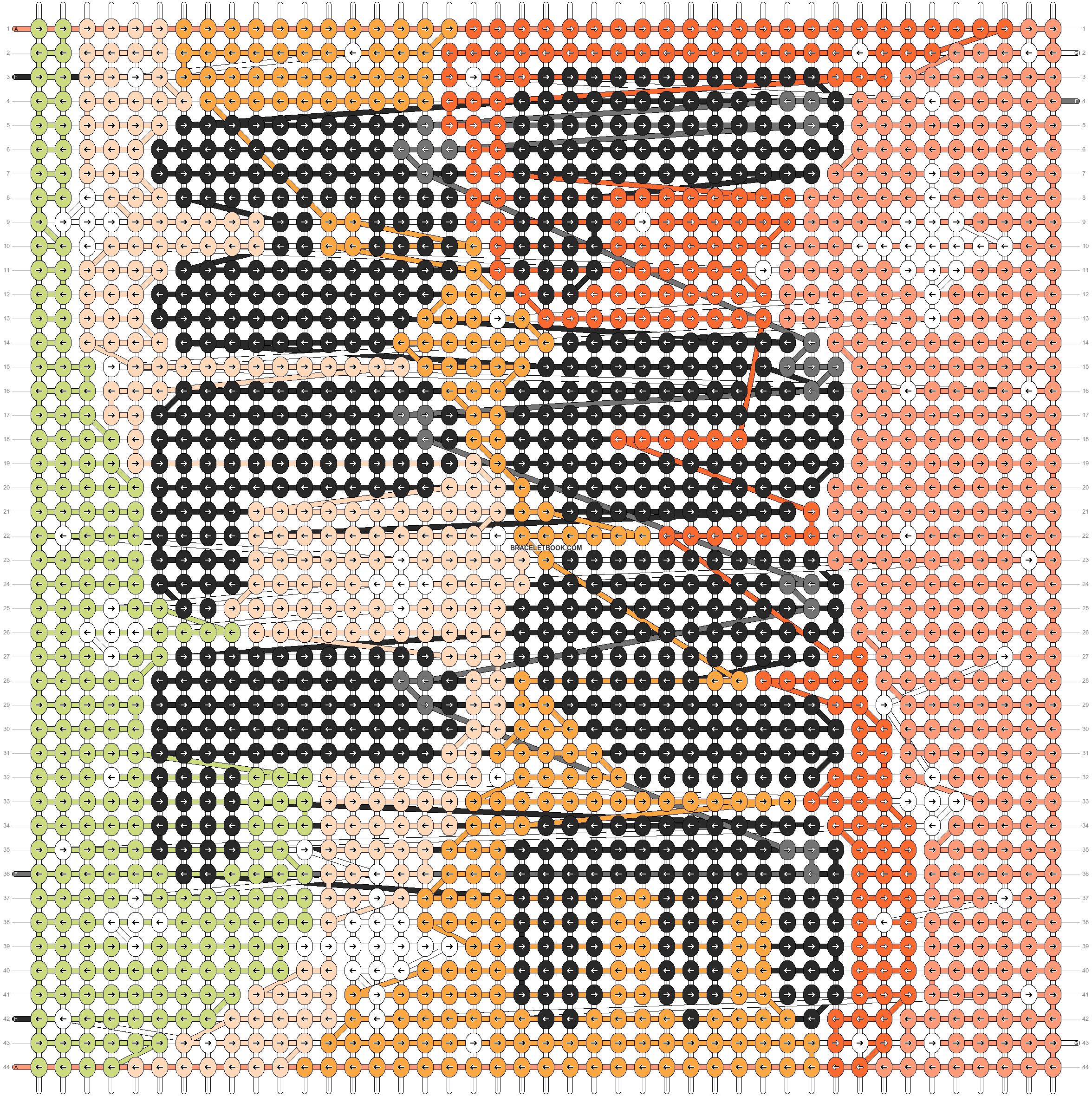 Alpha pattern #101404 pattern
