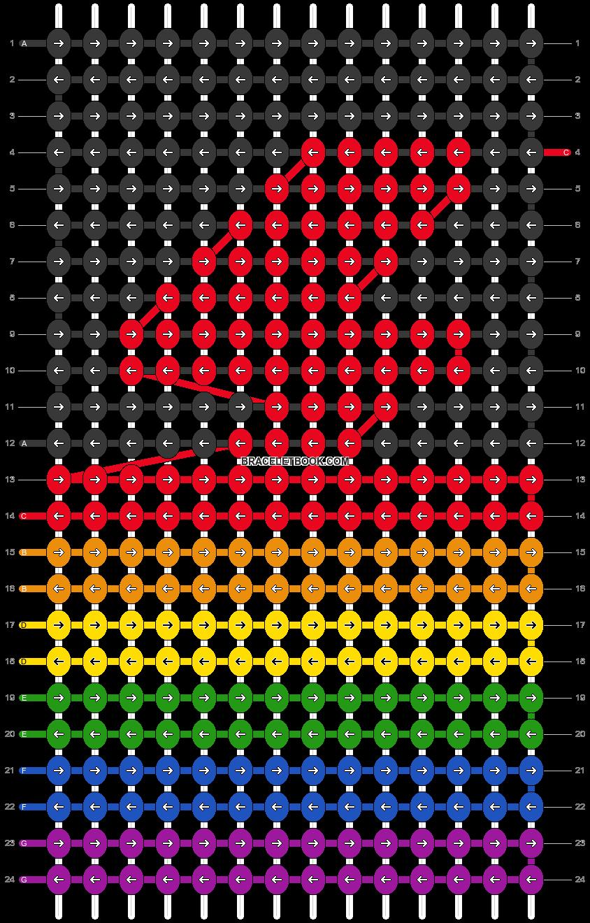 Alpha pattern #101640 pattern