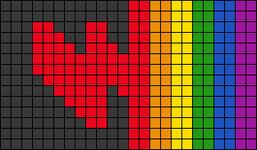 Alpha pattern #101640