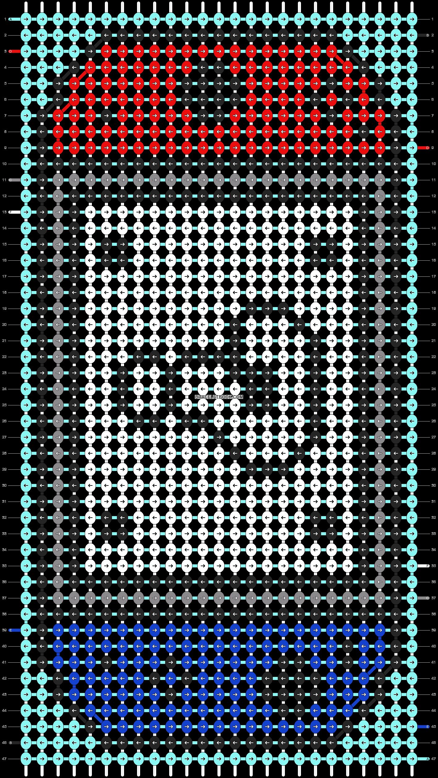 Alpha pattern #101734 pattern