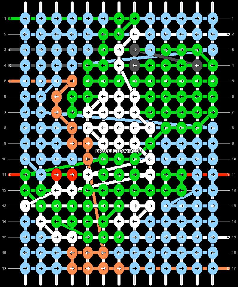 Alpha pattern #102049 pattern