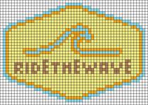 Alpha pattern #102055