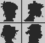 Alpha pattern #102056