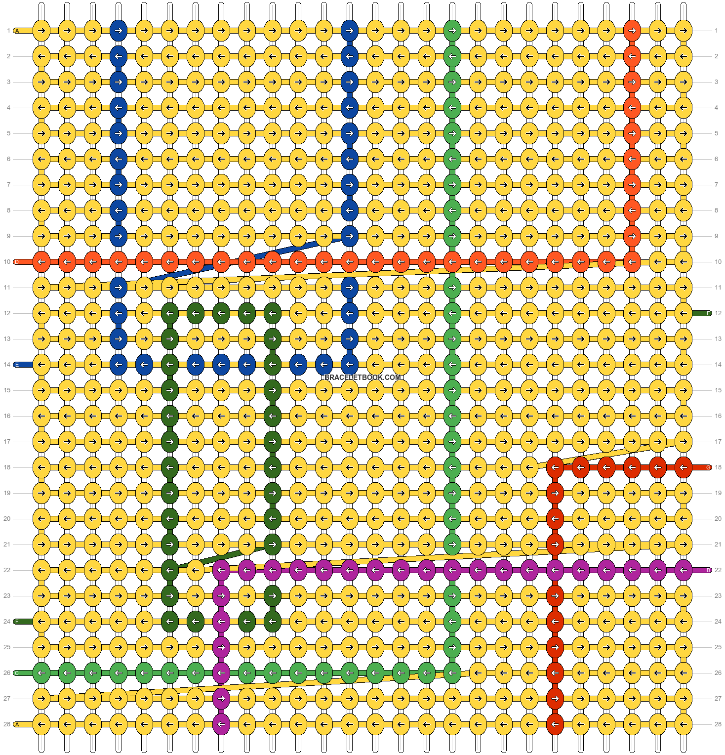 Alpha pattern #102073 pattern