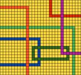 Alpha pattern #102073
