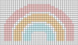 Alpha pattern #102166