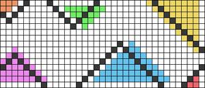 Alpha pattern #102178