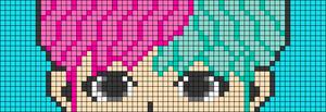 Alpha pattern #102185