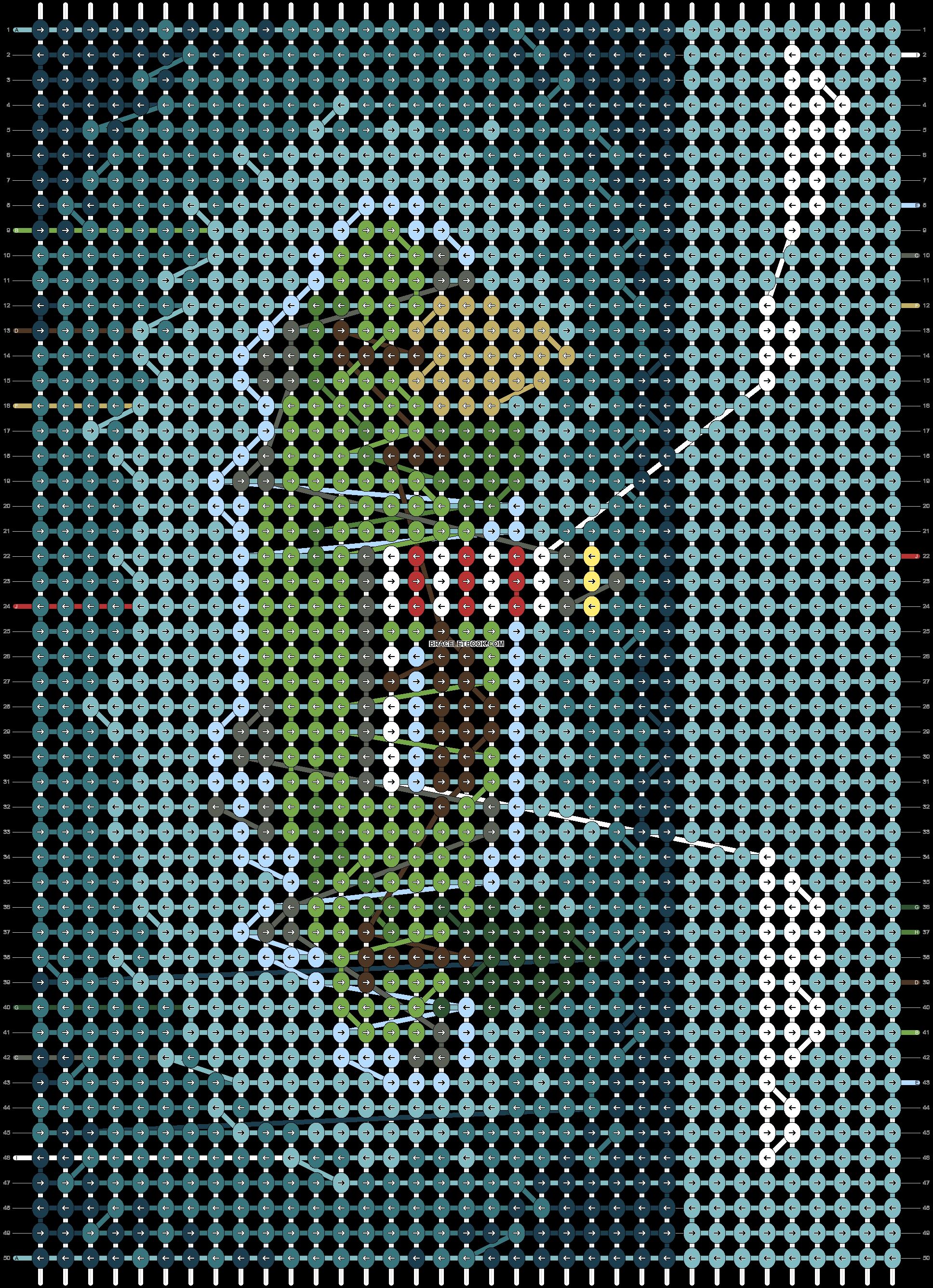 Alpha pattern #102231 pattern