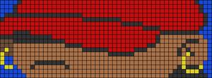 Alpha pattern #102342