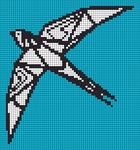 Alpha pattern #102385