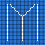 Alpha pattern #102386
