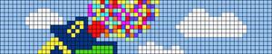 Alpha pattern #102387