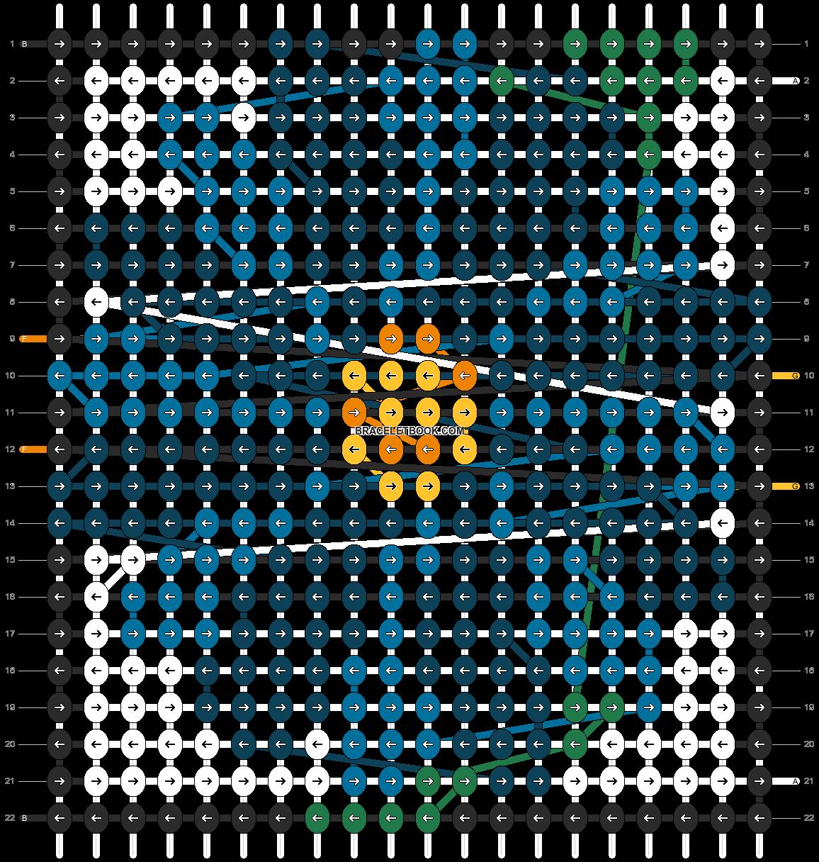 Alpha pattern #102415 pattern