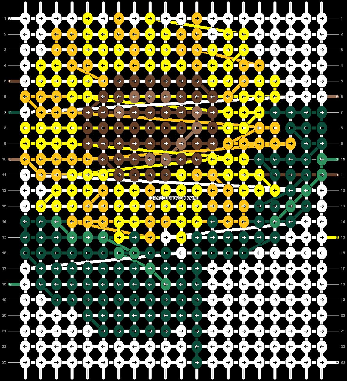 Alpha pattern #102416 pattern