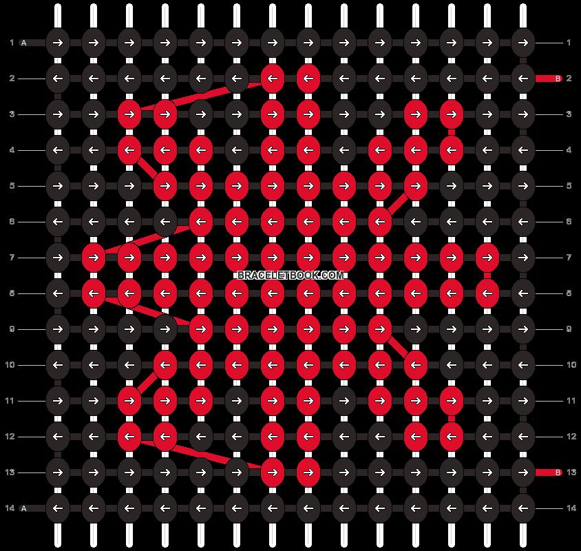 Alpha pattern #102501 pattern