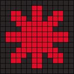 Alpha pattern #102501