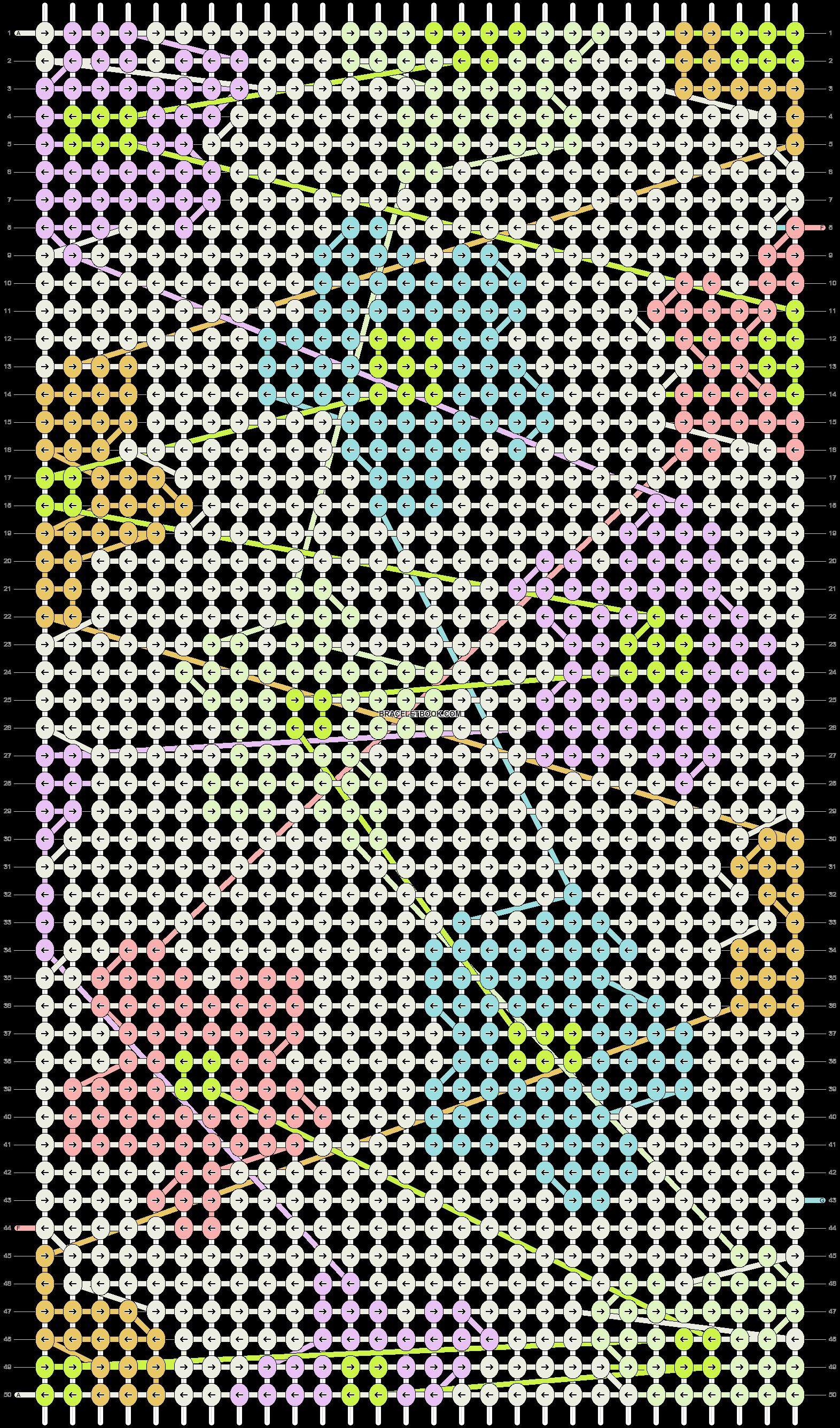 Alpha pattern #102507 pattern
