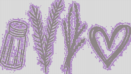 Alpha pattern #102509