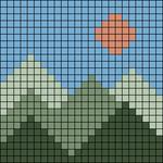 Alpha pattern #102604