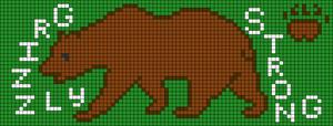 Alpha pattern #102635