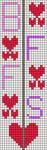 Alpha pattern #102693