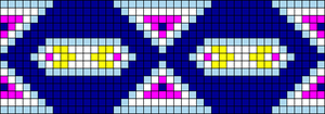 Alpha pattern #102701
