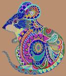 Alpha pattern #102703