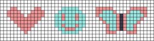 Alpha pattern #102739