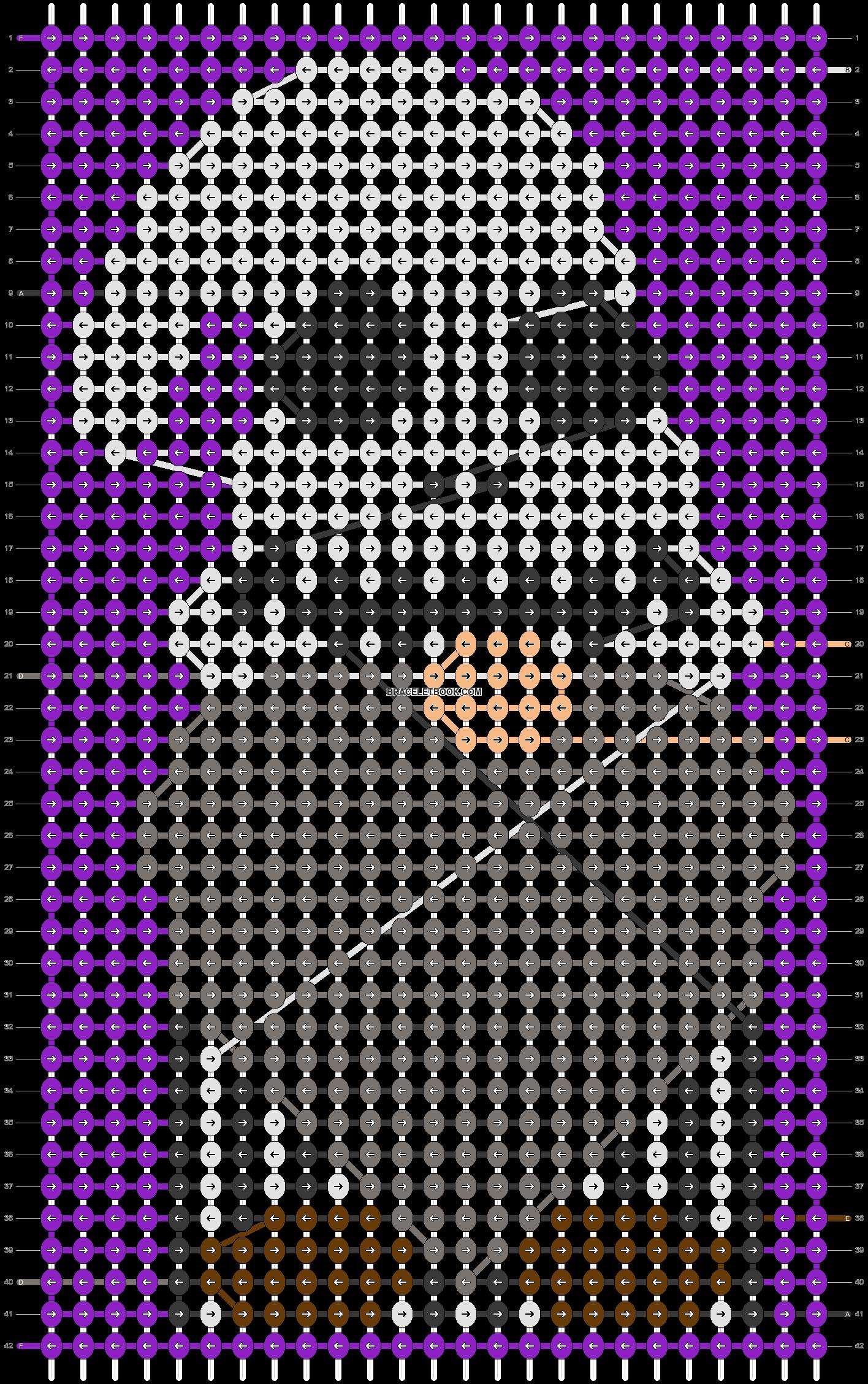Alpha pattern #102741 pattern