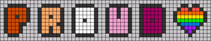 Alpha pattern #102803