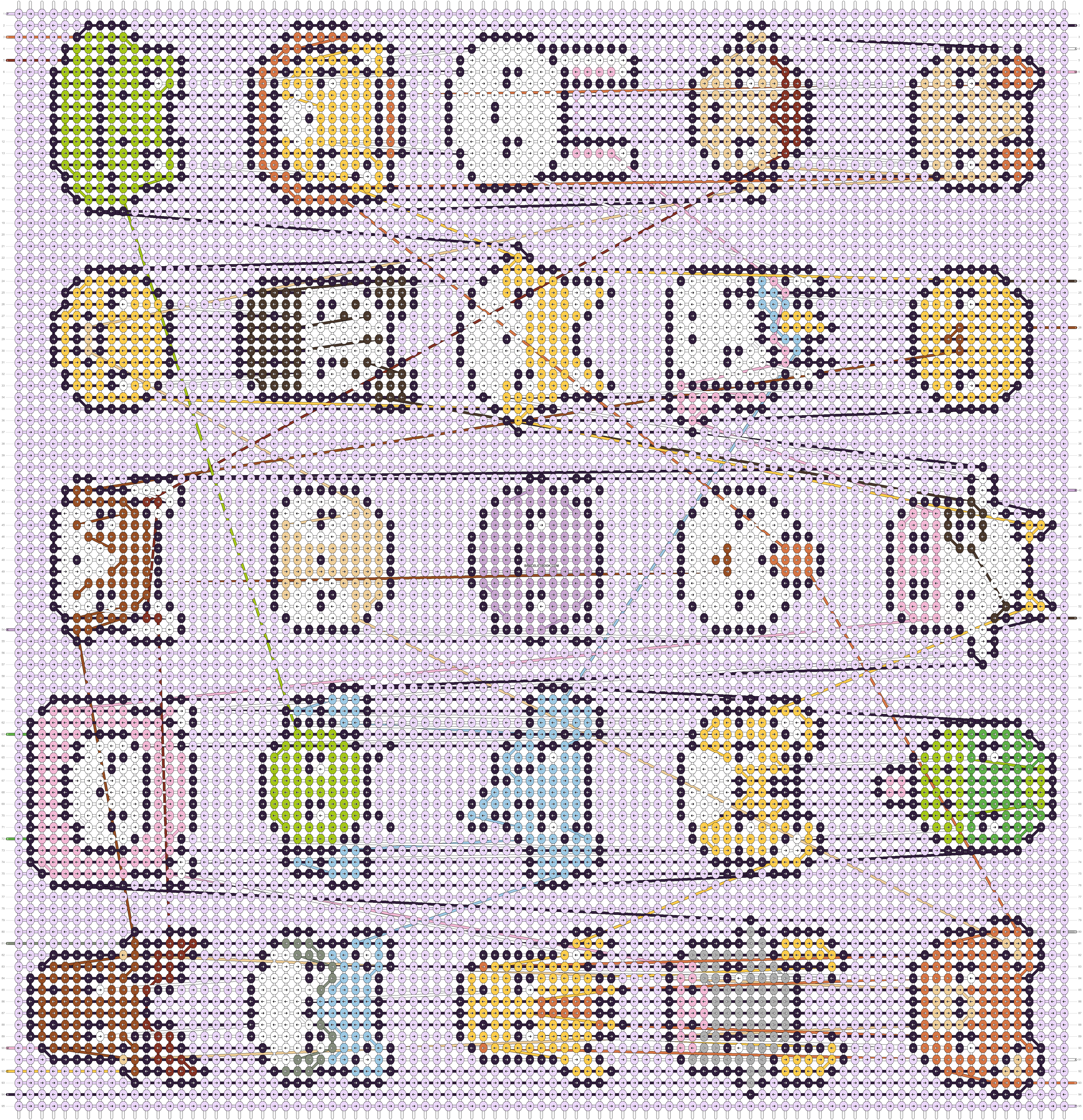 Alpha pattern #102804 pattern
