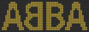 Alpha pattern #102825