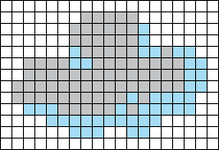 Alpha pattern #102827